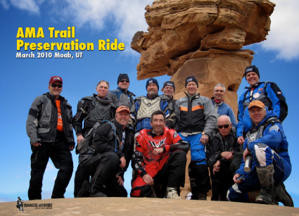 AMA Trail Preservation Ride