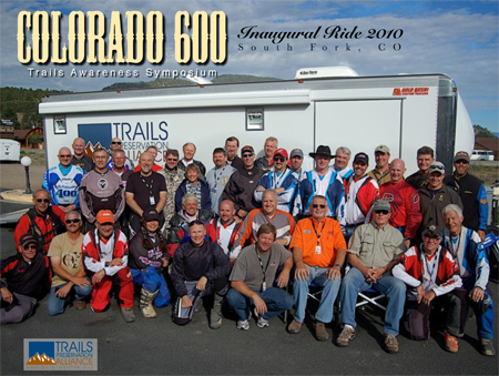 Colorado 600 ride group