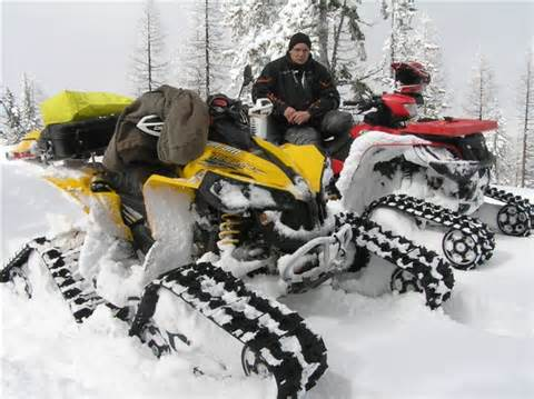 ATV Track Conversion