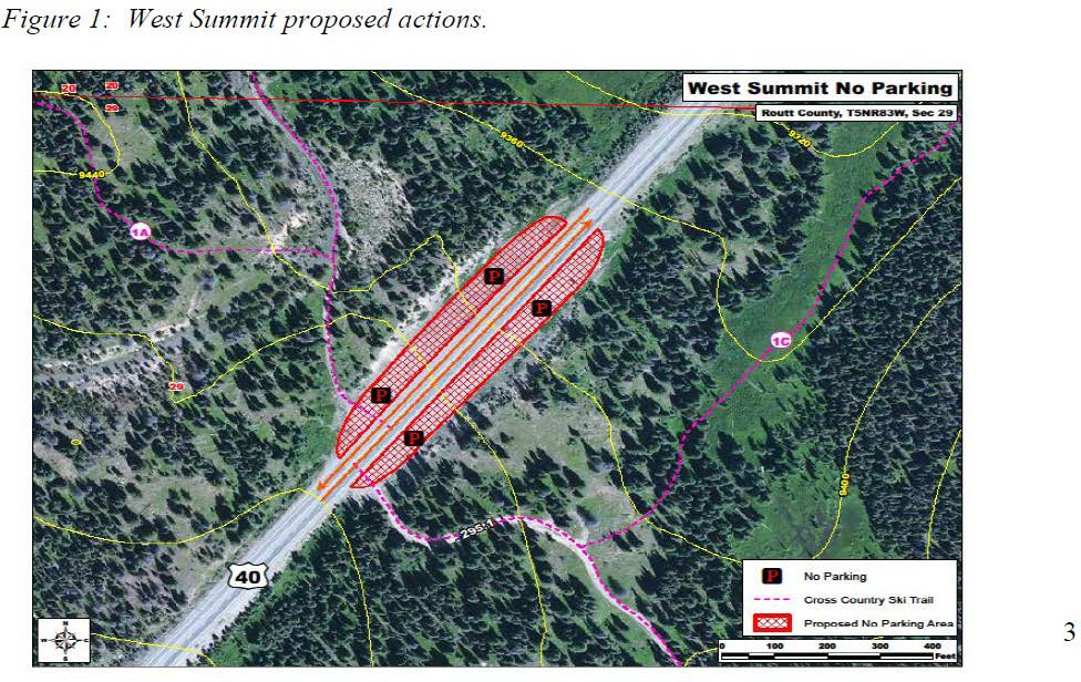 West Summit Proposed map overview