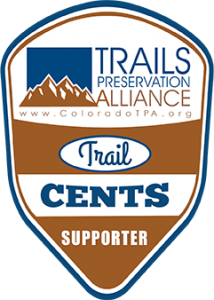 Trail Cents graphic shield